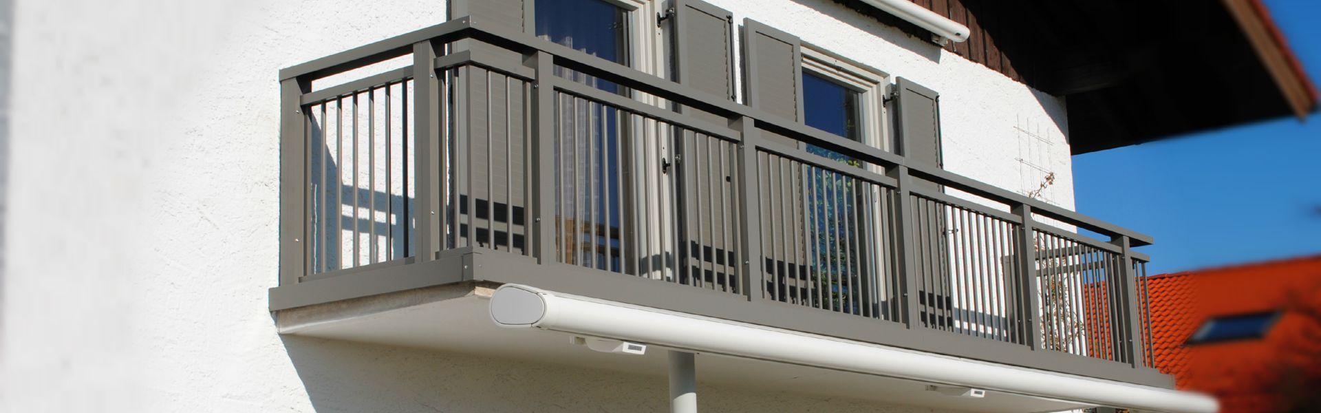 Sehr Brenter Balkone - Alu-, Holz-, Glas- und Edelstahlgeländer direkt KI54