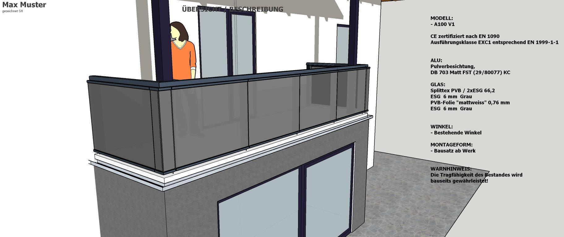 Brenter Balkone Alu Holz Glas Und Edelstahlgelander Direkt
