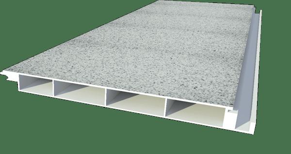 Boden Modelle M U30gh Alu Bodenprofil 30x333 Mm Granit Hell